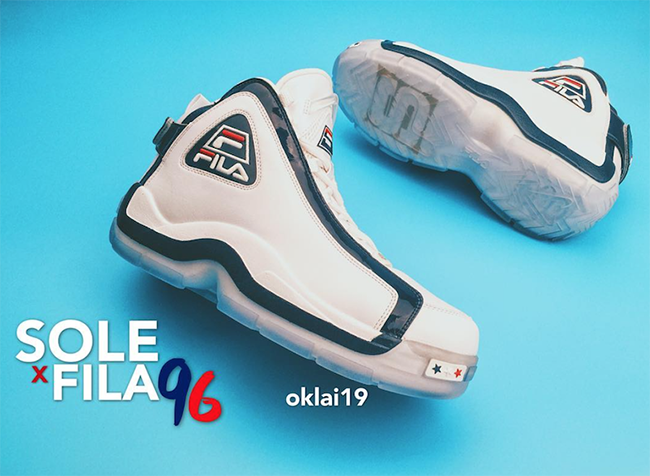 Sole Collector x Fila 96 Grant Hill 2