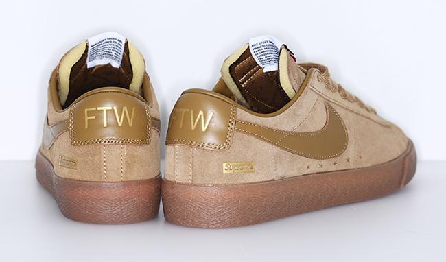 Supreme X Nike Sb Blazer Low Gt Sneakerfiles