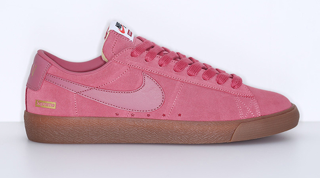 cheap for discount 7f0ce 9aa0c Supreme Nike SB Blazer Low GT Pink