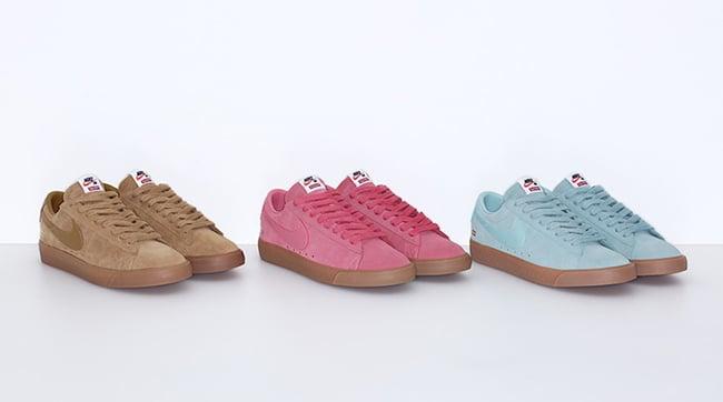 Supreme Nike Sb Blazer Low Gt Release Date