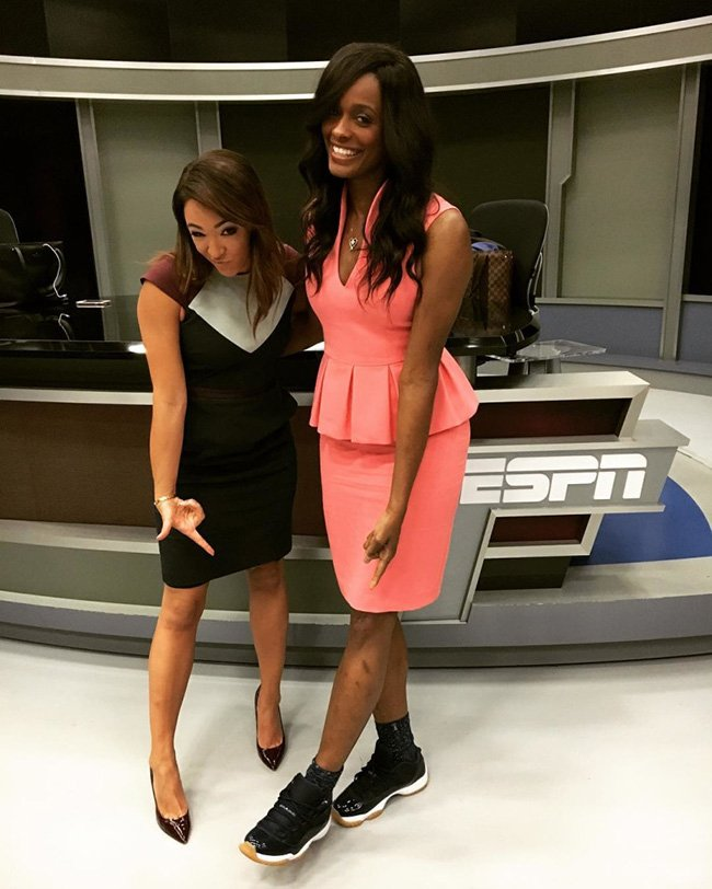 Swin Cash Air Jordan 11 Low Black Gum