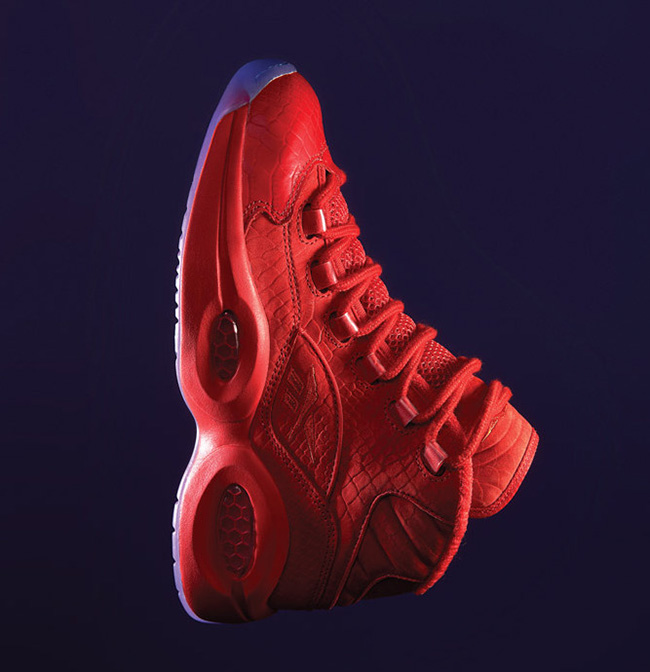 Teyana Taylor Reebok Question Mid Red