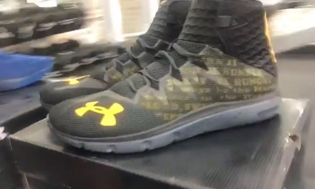 The Rock Under Armour Signature Shoes