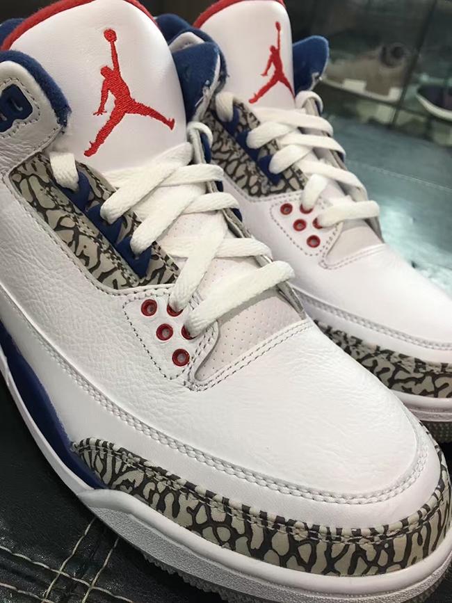 True Blue Nike Air Jordan 3 OG 2016