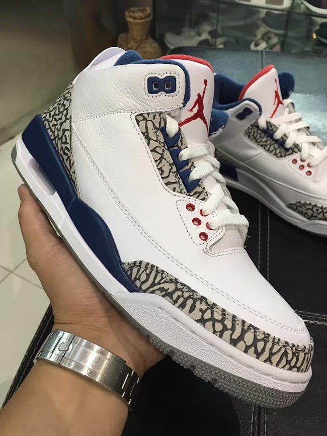19f269623dca2a Nike Air Jordan 3 OG True Blue 2016