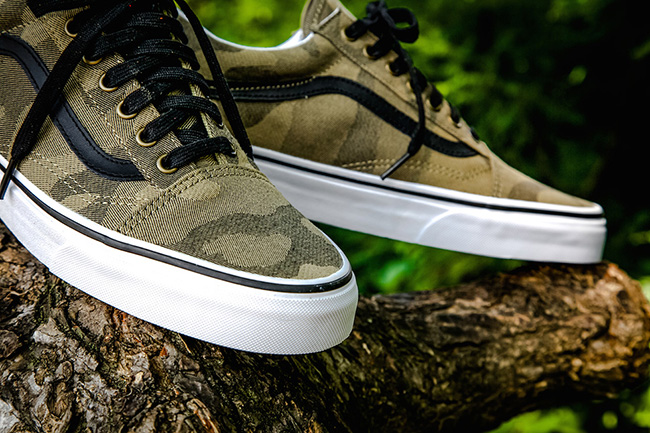 vans old skool camo