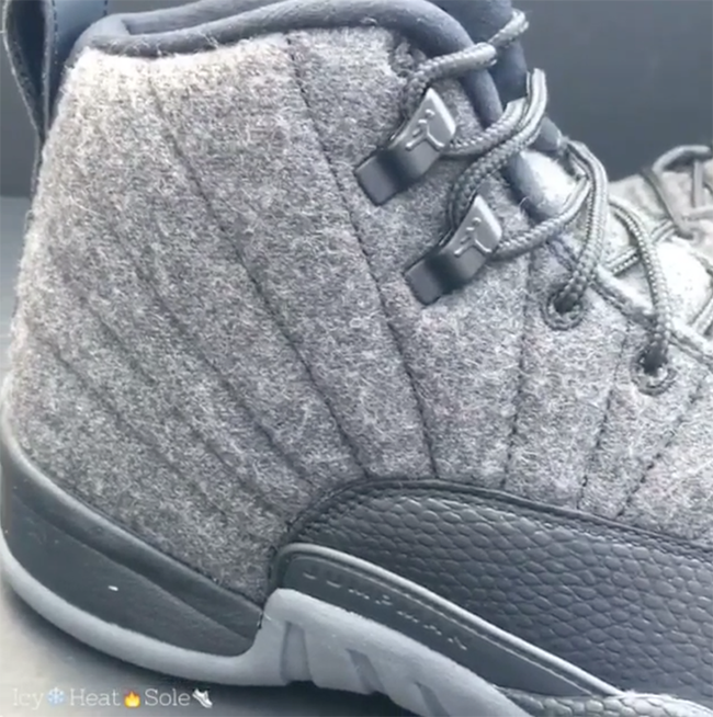 Wool Air Jordan 12 Retro Release