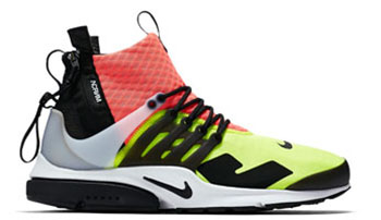 ACRONYM Nike Air Presto Mid Hot Lava