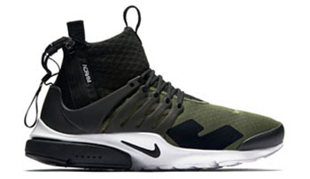 ACRONYM Nike Air Presto Mid Olive