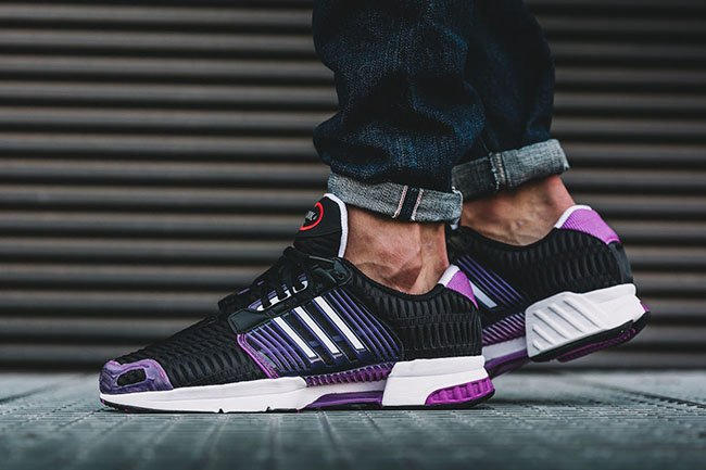 adidas climacool black purple