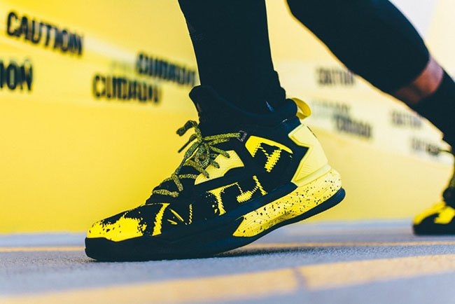 adidas D Lillard 2 Yellow Tape