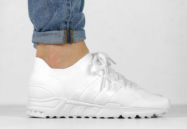 adidas EQT Running Support Primeknit Triple White