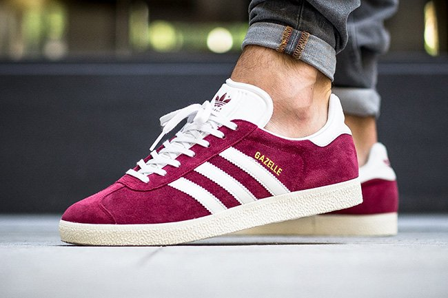 adidas Gazelle Collegiate Burgundy | SneakerFiles