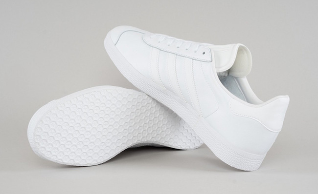 adidas Originals Gazelle Triple White
