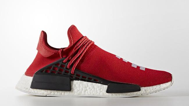 adidas HU NMD Pharrell Williams Scarlet Red HU Race