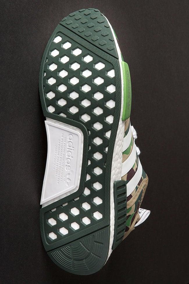 adidas NMD Bape Olive Camo