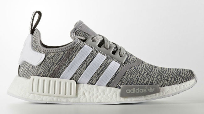 adidas NMD R1 Glitch Solid Grey White