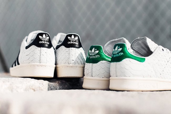 adidas Originals Snakeskin Pack Stan Smith Superstar