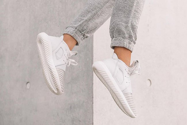 Adidas Tubular X PK (Sesame & Clear Brown) End Clothing
