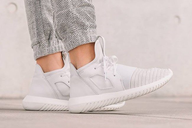 chic The adidas Tubular Defiant Goes All White gowerpower.coop