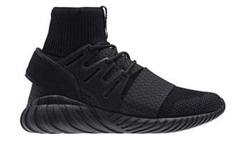 adidas Tubular Doom Primeknit Triple Black
