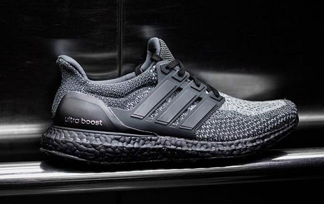 10c272a056f adidas Ultra Boost Black Sole