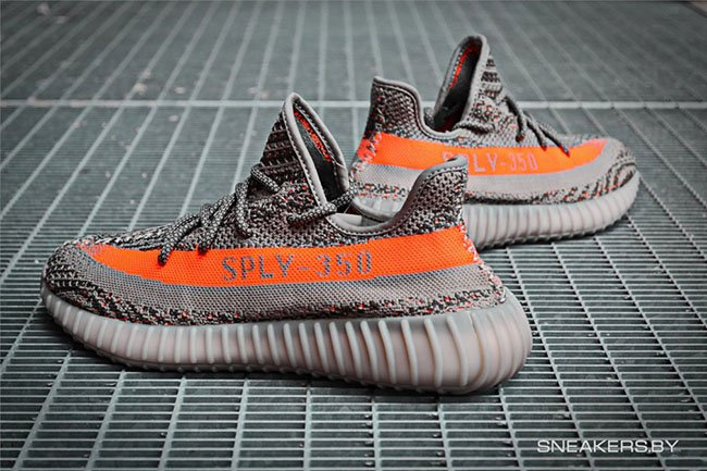 Adidas Yeezy 350 Boost V2 Beluga Solar Red Sneakerfiles