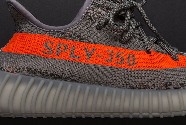 adidas Yeezy 350 Boost V2 Solar Red Steel Grey