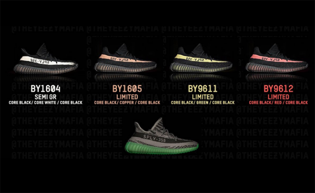 best cheap 6f88e be6a5 adidas Yeezy Boost 350 V2 Colorways | SneakerFiles