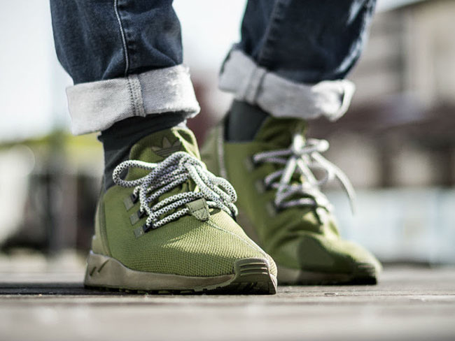 Adidas Zx Flux Adv Olive