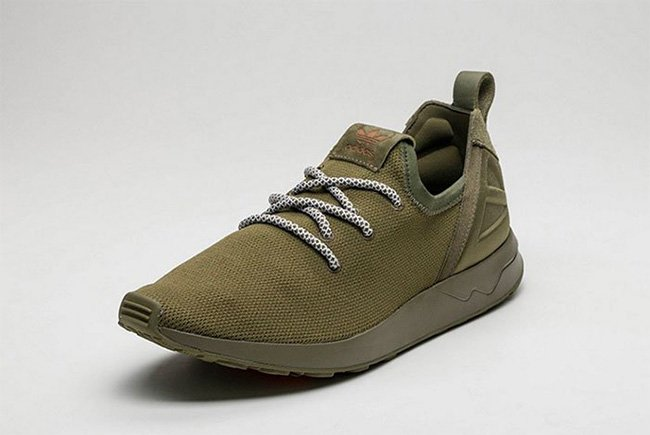 1ad58678b613c On Feet Photos of the adidas ZX Flux ADV X Olive Cargo free shipping ...