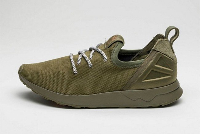 82056999c On Feet Photos of the adidas ZX Flux ADV X Olive Cargo free shipping ...