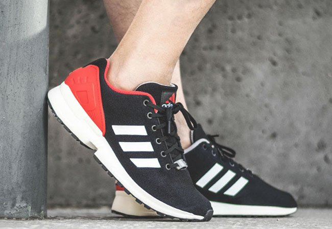 adidas ZX Flux EQT Black White Red
