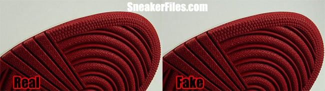 the latest 56a8d 76373 Air Jordan 1 Banned Fake Real Sole