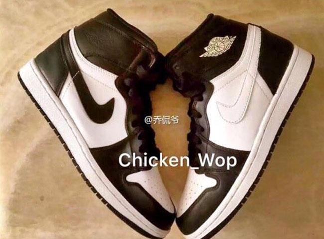Air Jordan 1 Black White 2017