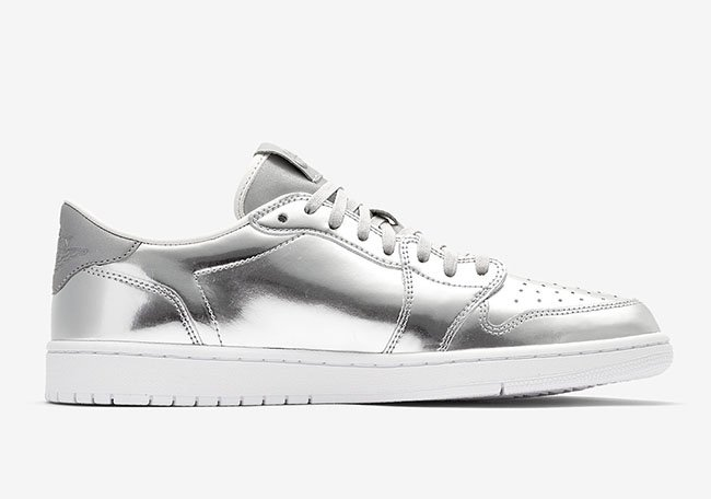 Air Jordan 1 Low Pinnacle Silver Release Date
