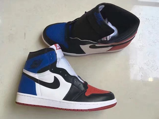 size 40 5b489 8407a Air Jordan 1 High Top 3 Release Chicago Royal Banned ...