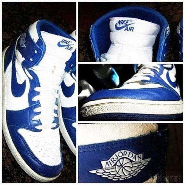 Air Jordan 1 Retro High OG Storm Blue 2016
