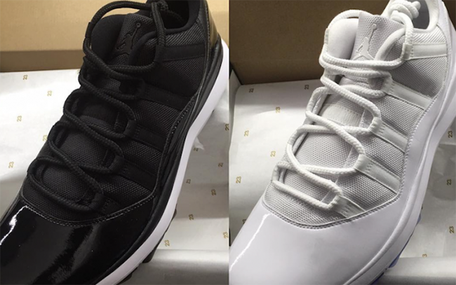 Check Out the Air Jordan 11 Golf Shoes