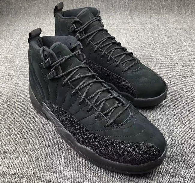 Air Jordan 12 Black OVO