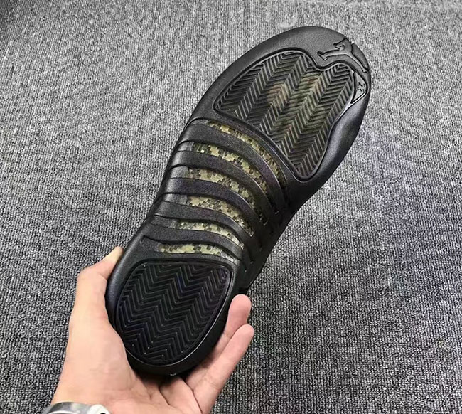 Air Jordan 12 Black OVO