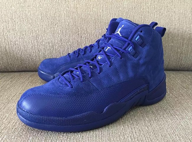 Air Jordan 12 Blue Suede Release