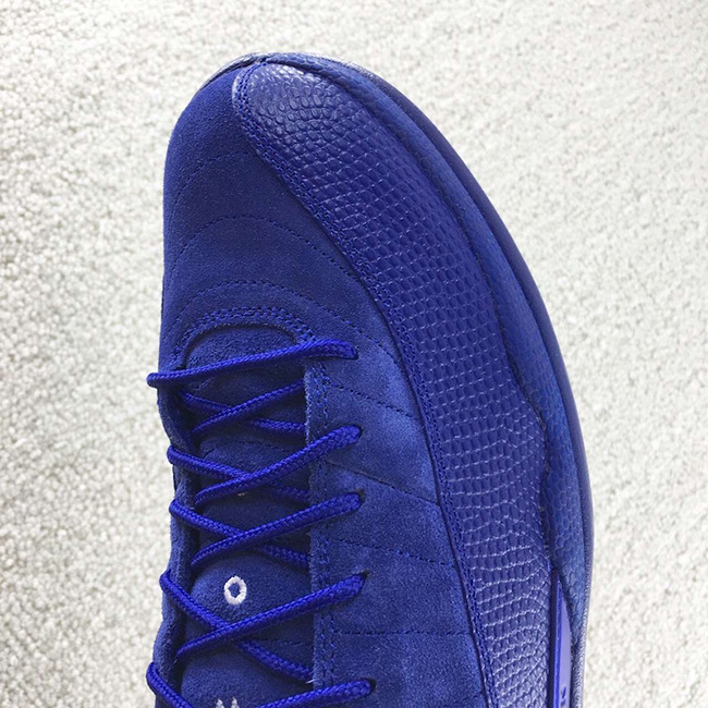 Air Jordan 12 Retro Royal Blue Suede