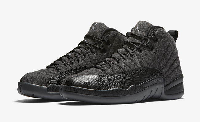 Air Jordan 12 Wool October 2016