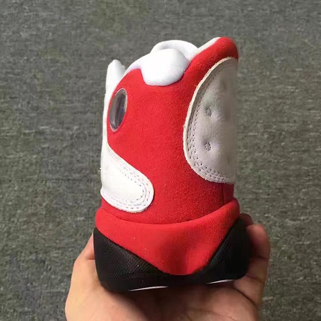 Air Jordan 13 White Red Chicago Retro 2017