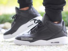 Air Jordan 3 Cyber Monday Black White On Feet