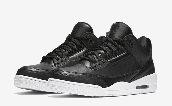 Air Jordan 3 Retro Cyber Monday Black White Release