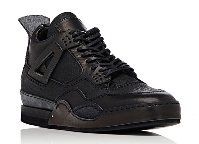 874a2321c614 Air Jordan 4 Hender Scheme Triple Black