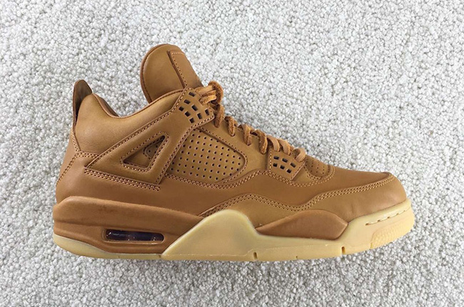Air Jordan 4 Premium Ginger Gum Wheat