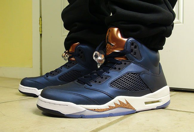 separation shoes 7af62 fc1e1 Air Jordan 5 Bronze Obsidian Olympic Release Date | SneakerFiles